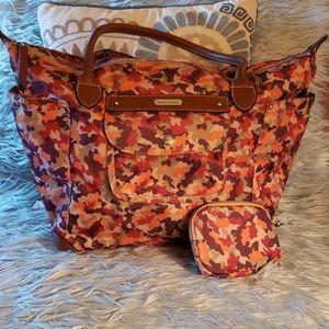 Franco Sarto camo handbag